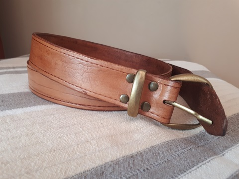 Leather belts 1