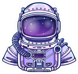 High Quality Space Car Stickers and Decals