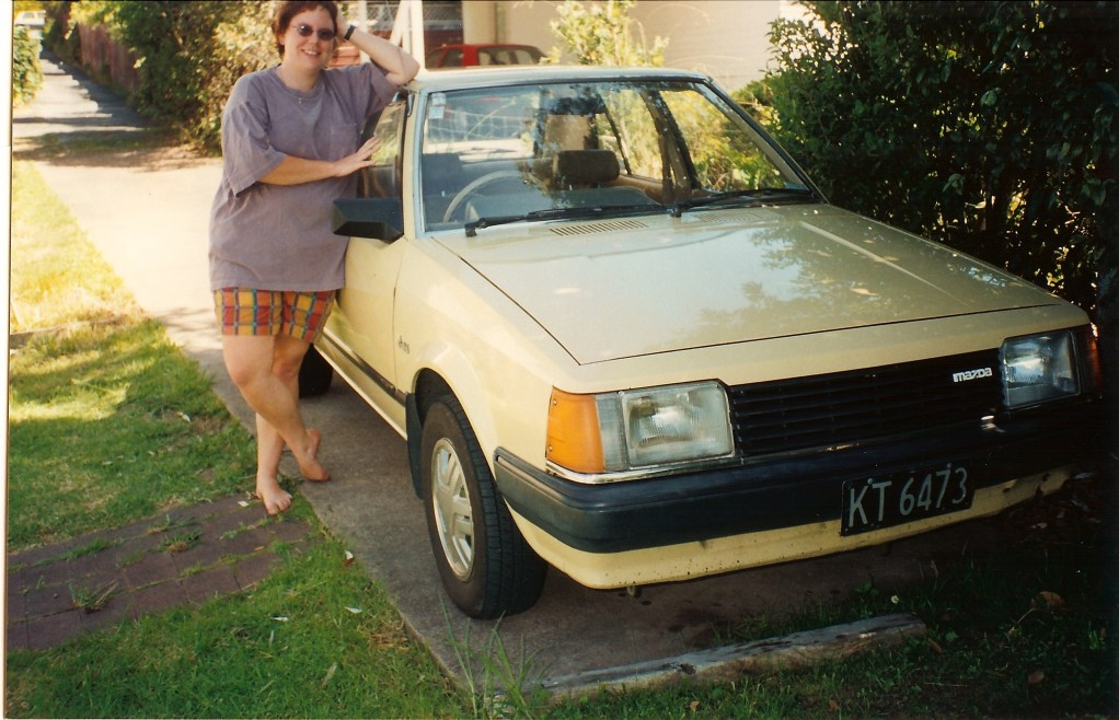 Jenn & our first car