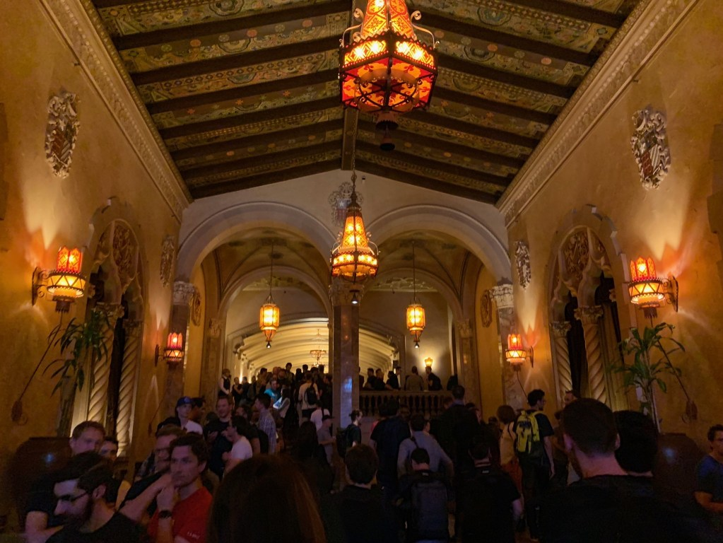 California Theatre foyer