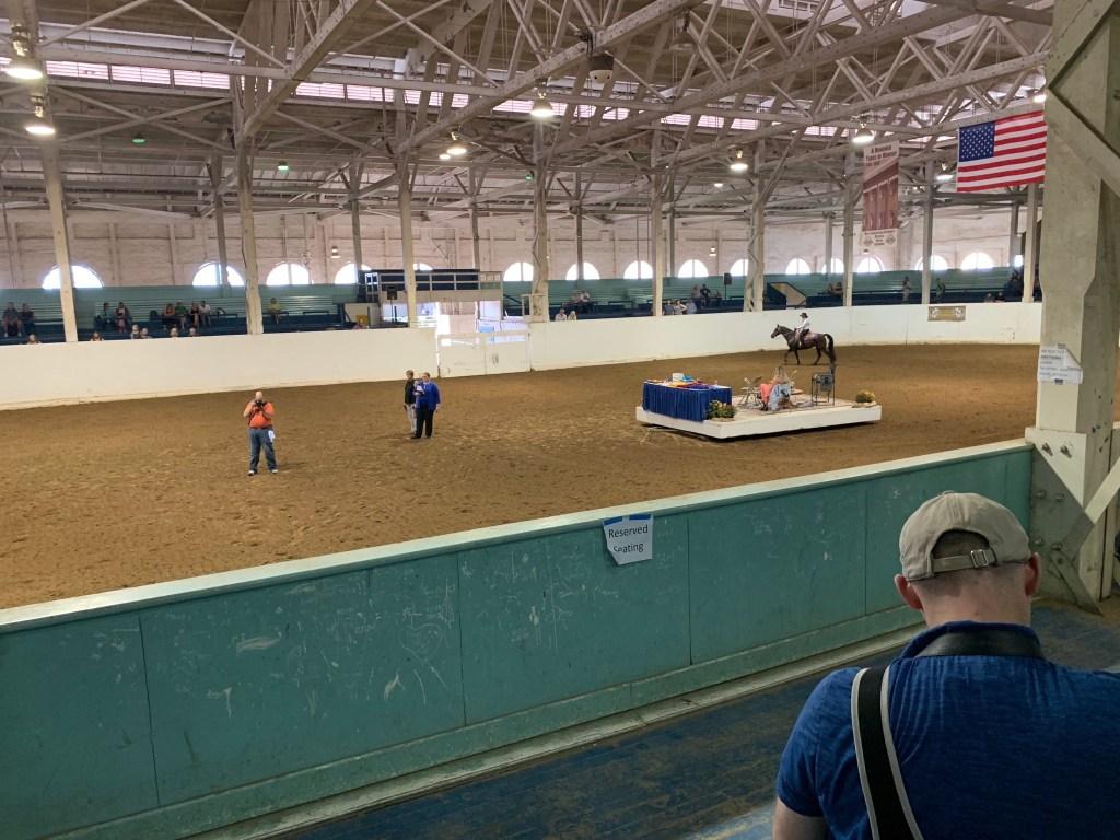 Historic horse arena