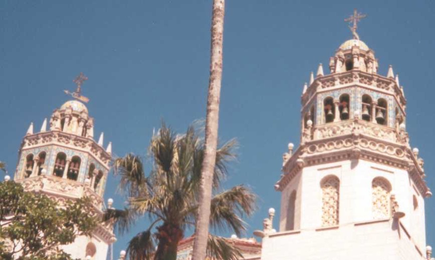 Hearst Castle towers