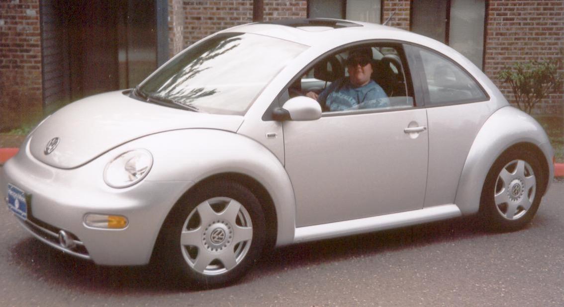 Jenn in New Beetle