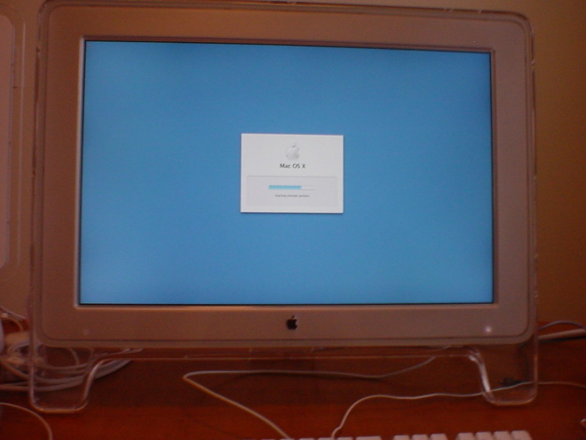 Power Mac G5 first boot