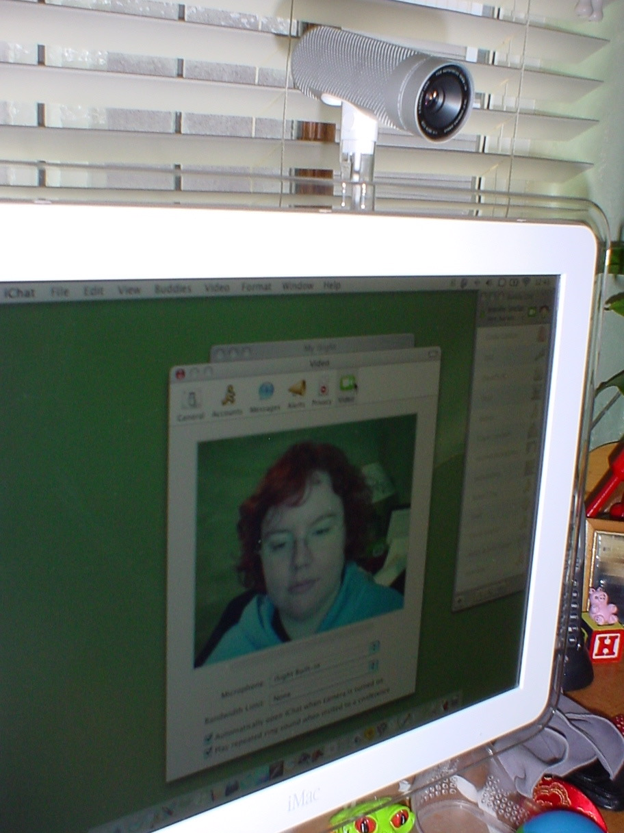 iSight with iChat app