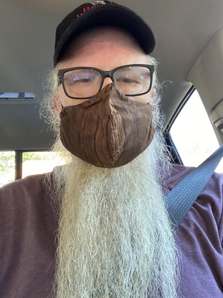 David in a mask