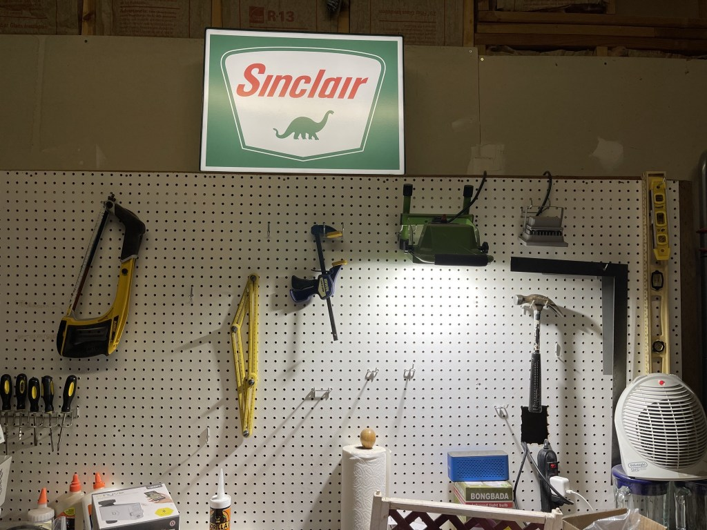 Sinclair sign in workshop
