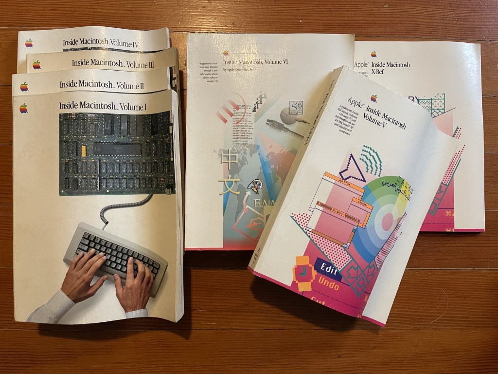 Inside Macintosh reference books