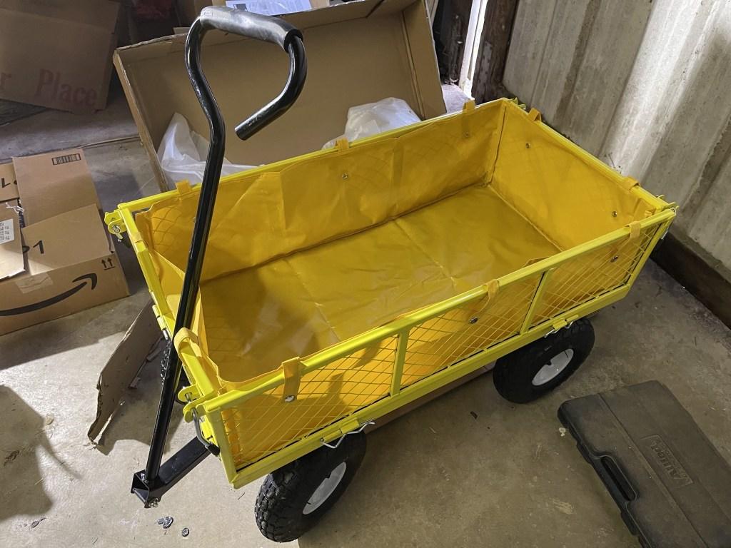 New garden cart