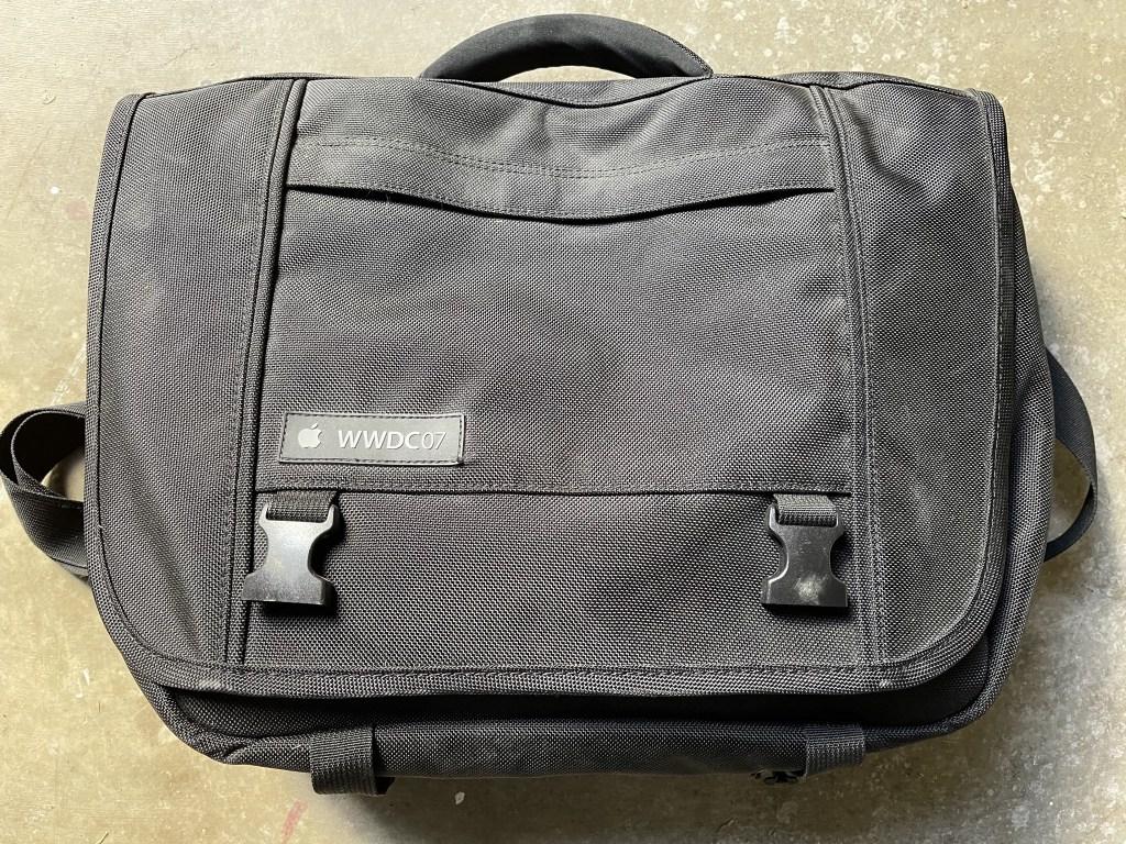 WWDC07 laptop bag