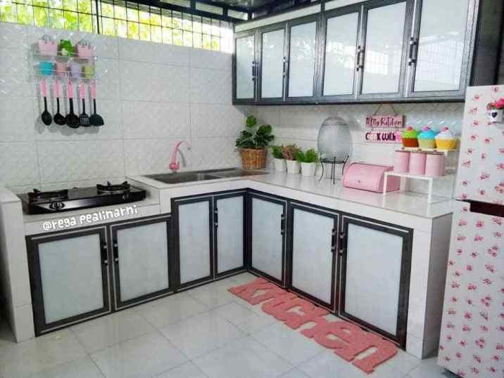 Desain dapur cantik dari Pekanbaru