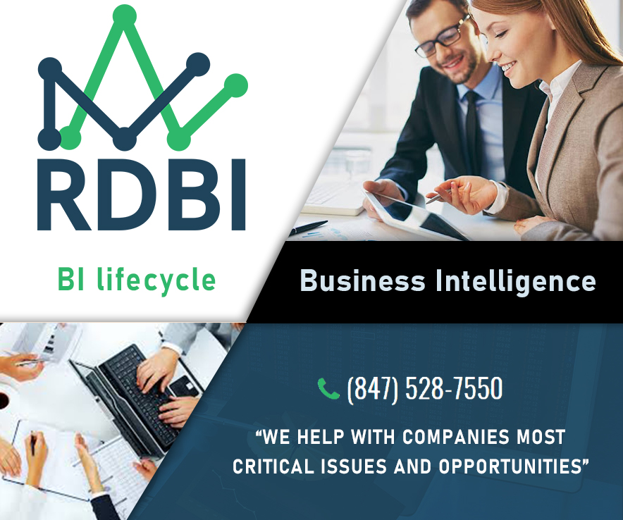 What do you know about Business Intelligence? Simply put, it is the process of identifying what information would help make stronger decisions and using that data to create reports or dashboards. A good analogy is your car's dashboard. It's got gauges that tell you what's going on, and you have levers, pedals and a steering wheel to make the changes. RDBI Solutions provides historical, current, and predictive views of business operations. Common functions of business intelligence technologies include reporting, online analytical processing, key performance indicators, analytics, data mining, process mining, complex event processing, business performance management, benchmarking, text mining, predictive analytics, and prescriptive analytics. They can handle large amounts of structured, and sometimes, unstructured data to help identify, develop, and create new strategic business opportunities. They aim to allow for the easy interpretation of these big data and are part of your business intelligence maturity model and business intelligence life cycle. By identifying new opportunities and implementing an effective strategy based on those insights, they provide businesses with a competitive market advantage and long-term stability.