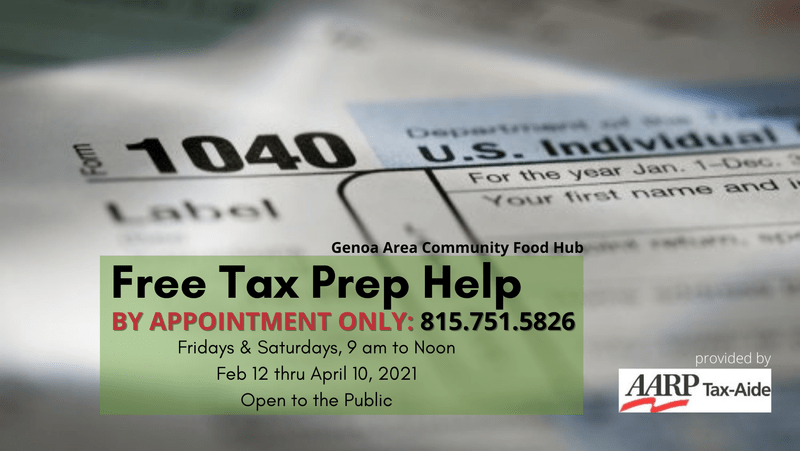 Free Tax Help Available Throughout Northern Illinois
