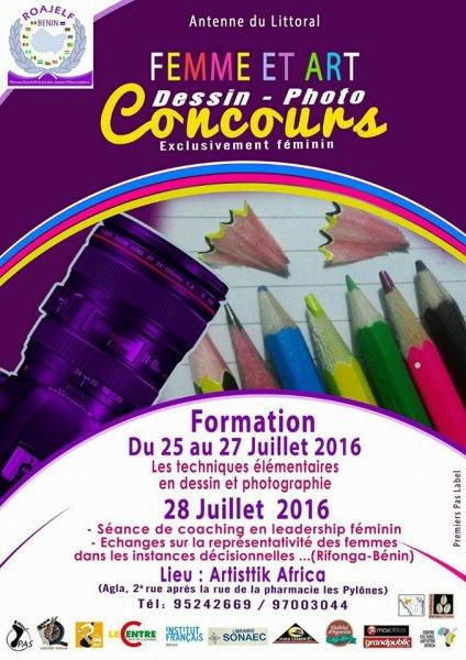 DELIBERATION concours Féminin dessin et photographie