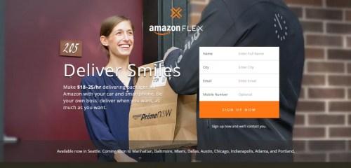 """O que é e como funciona o AMAZON FLEX  o """"ÜBER das entregas"""" (Atualizado)"""