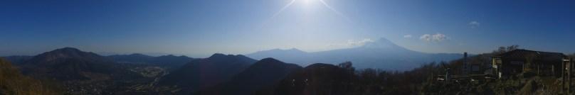 Panorama from Mount Kintoki