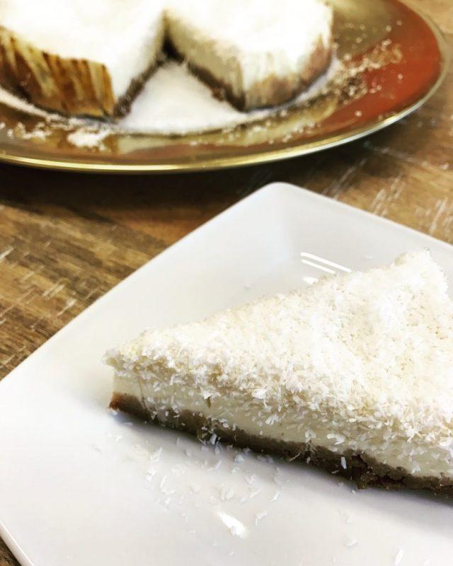 kokos-en-limoencheesecake