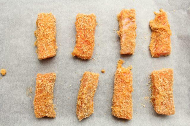 Glutenvrije Zalmnuggets