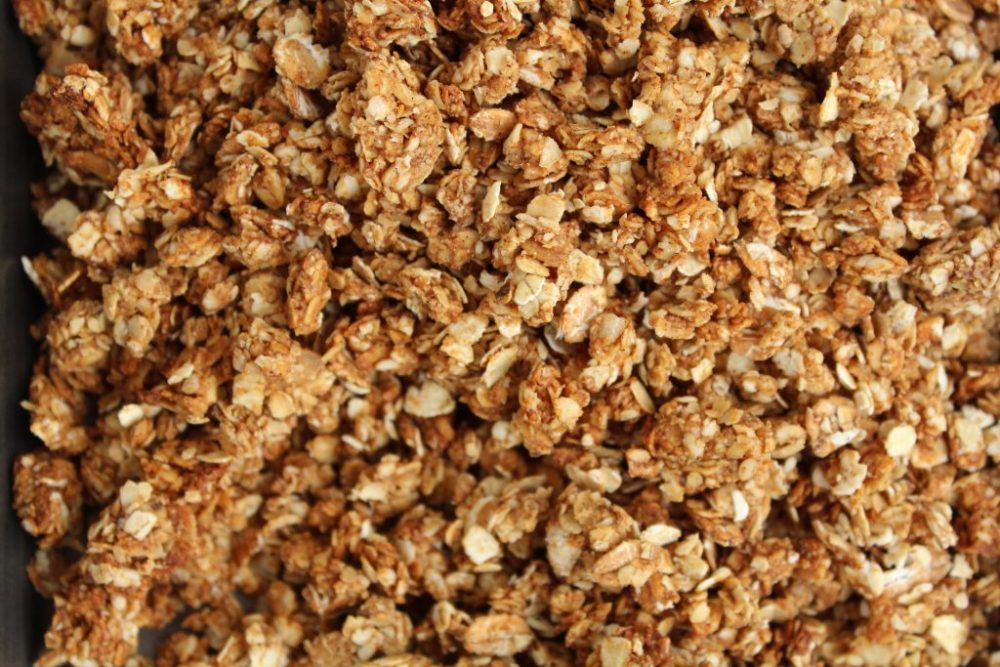Pindakaas granola