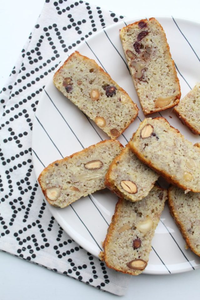 Low carb bananenbrood