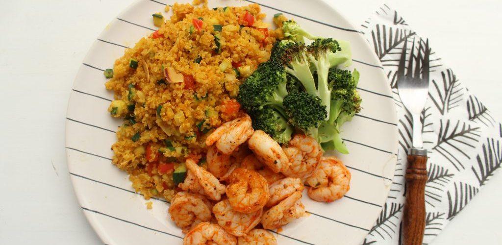 Gamba's met quinoa