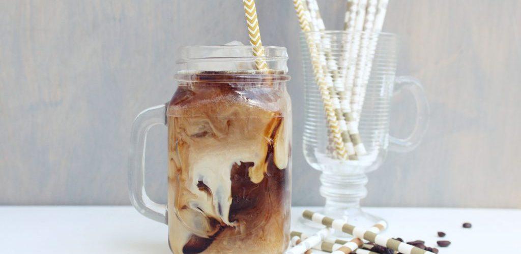 ijskoffie zonder suiker