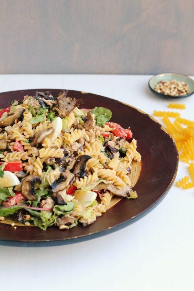 recept voor pastasalade met tonijn