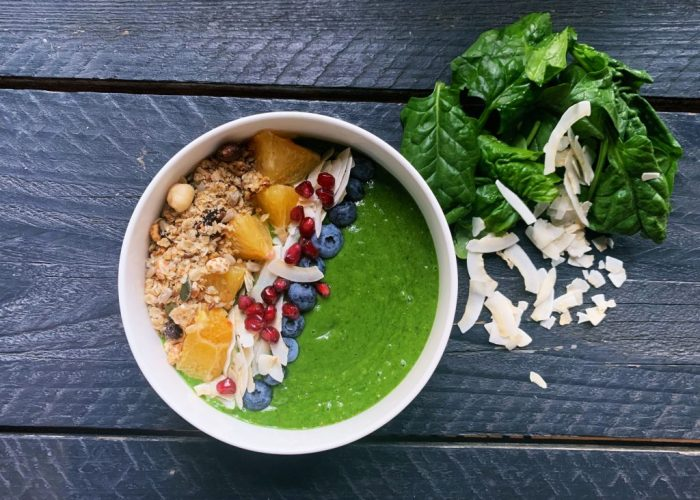 smoothie bowl met kokosmelk