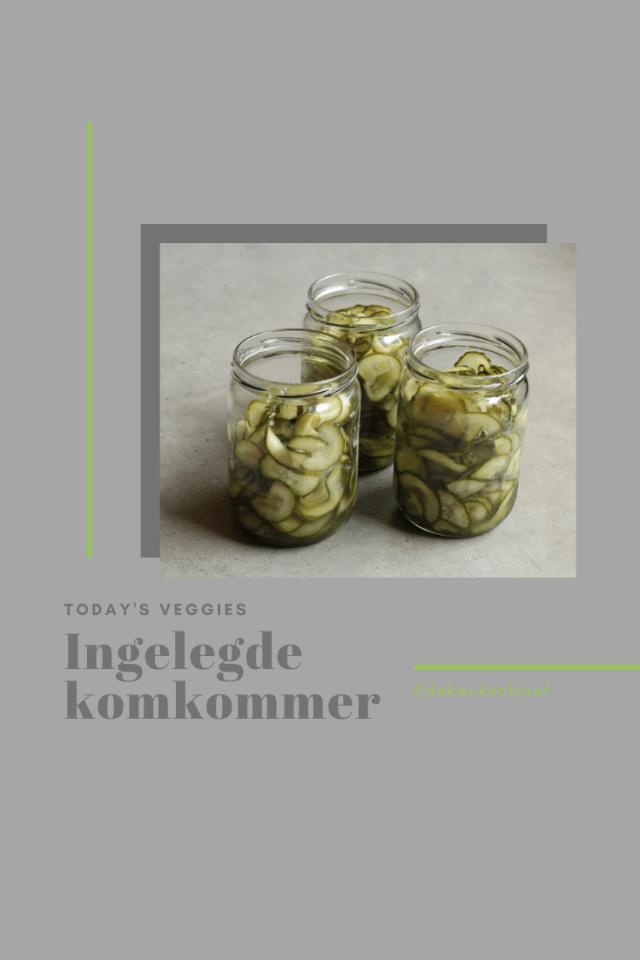ingelegde komkommer