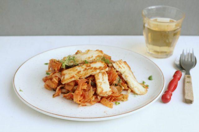 pasta van groente