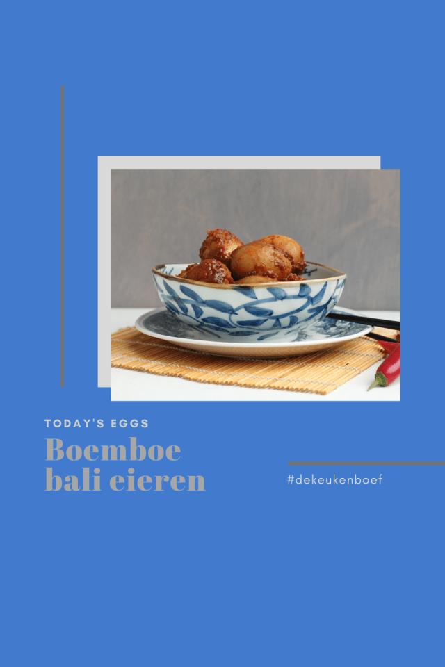 boemboe Bali eieren
