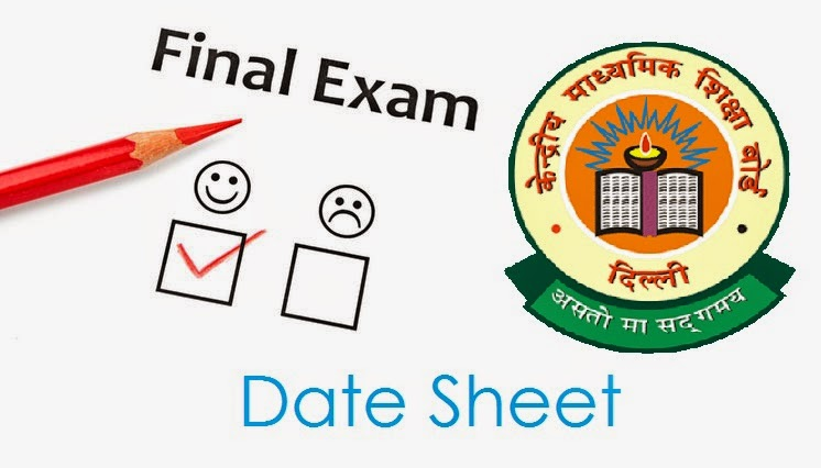 CBSE 12th Board Exam Date Sheet 2016 Check 10+2 Exam Time Table