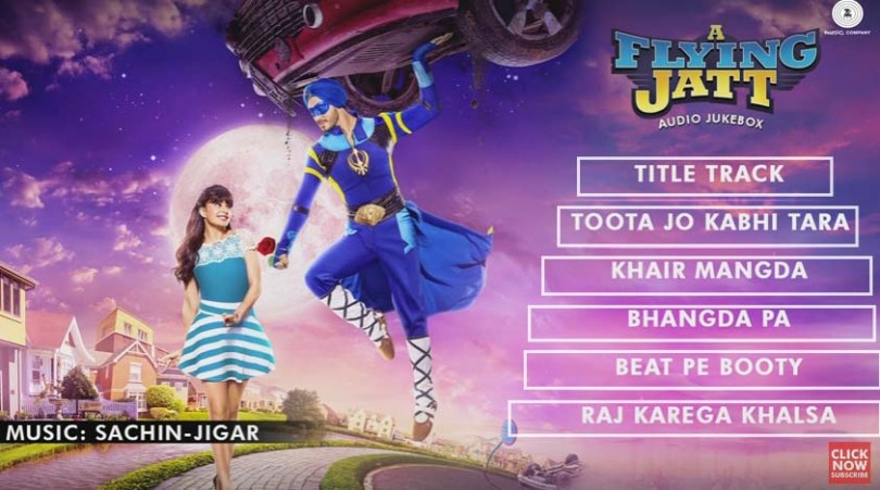 a-flying-jatt-music-review