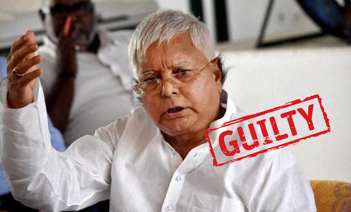 Fodder scam: Lalu Prasad Yadav found guilty in fourth fodder scam case
