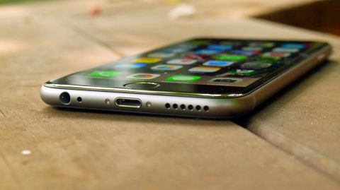 iPhone 6 catches fire