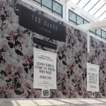 Ted Baker Hoarding Graphics