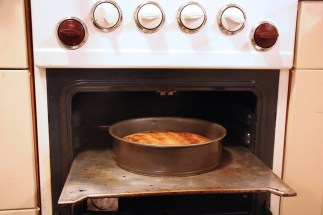 perencake net uit de oven