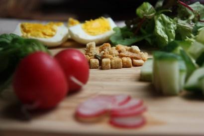 ingredienten mediterraanse salade