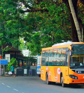 Ernakulam-KURTC-BUS-Service-to-Cochin-International-Airport, Ernakulam City