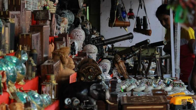Handicrafts in Shop - Jew Street - Fort Kochi, Jew Street Fort Kochi