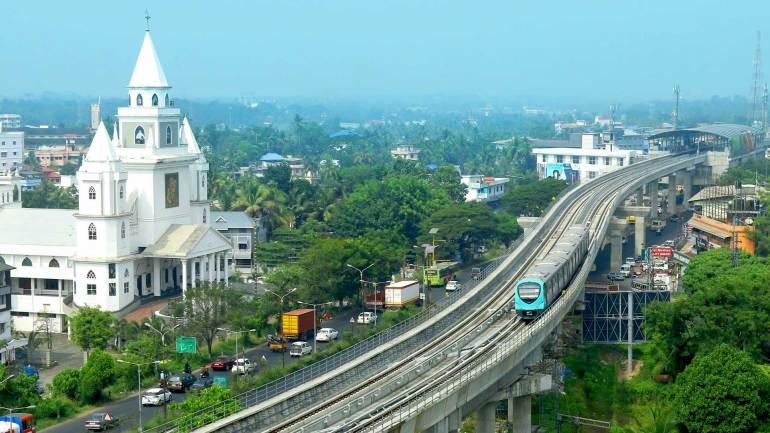 Kochi Metro Rail - Ernakulam