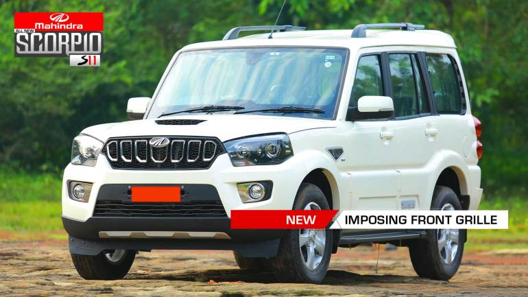 All-New-Mahindra-Scorpio-Facelift-S11-Front-Grille-with-Chrome-Inserts