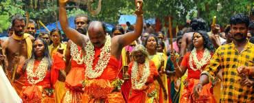 Kodungallur Bharani-Oracles-moving-to-the-'Nilapadu-Thara'-Kerala-Festival-Photos-De-Kochi-Kodungallur-Bharani-Festival, Kodungallur Bharani