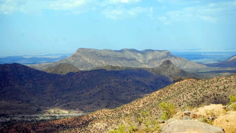 Peak-of-the-Sheikh-mountains,-Woqooyi-Galbeed,-Sheikh-village-Somaliland