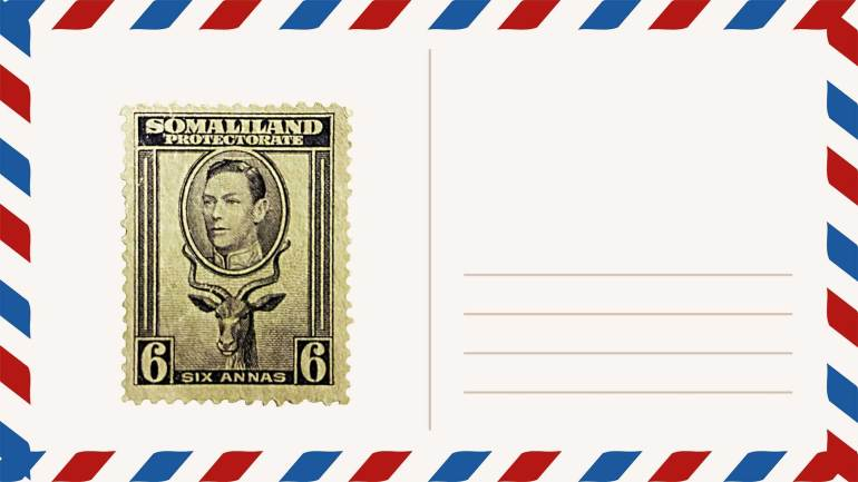Postage-Stamps-of-British-Africa-Somaliland-Protectorate-Somaliland