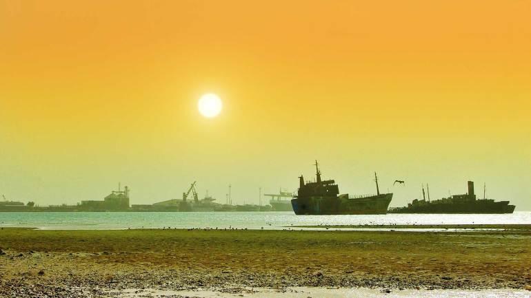 Sunset-in-Berbera-Port-Somaliland
