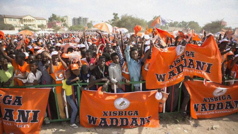 Wadddani-political-party-members-gathered-for-the-election-campaign-(Year-2010),-Hargeisa-Somaliland