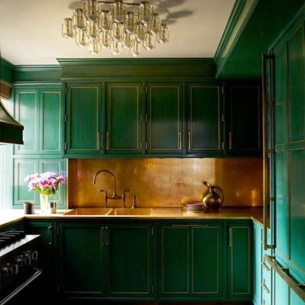 Зеленый цвет в интерьере: фото, идеи, с чем сочетать, как ...