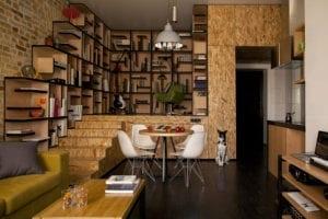 Renovarea unui apartament mic din Kiev 4