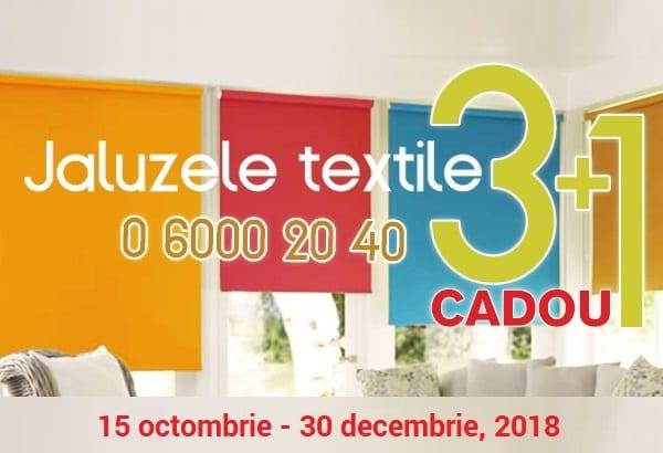Rolete textile 3+1 CADOU!!!